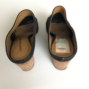 Lucky Brand Shoes - Lucky Brand Organza Leather Mule Size 7.5